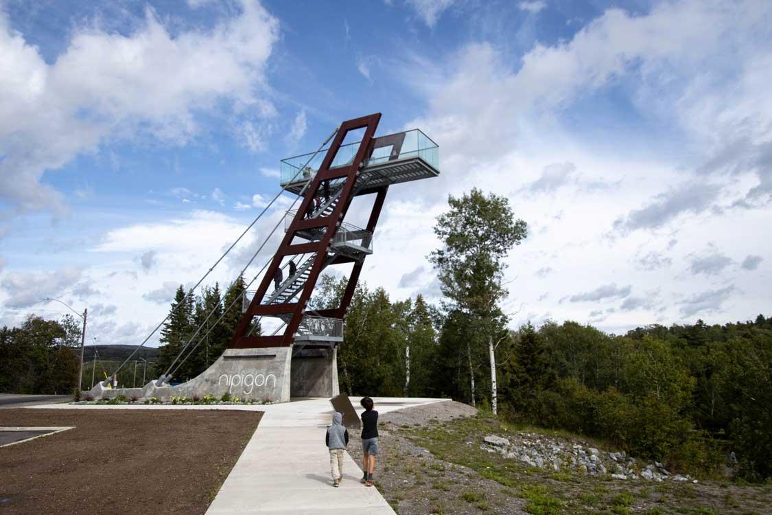 Nipigon Lookout Tower in Northern Ontario