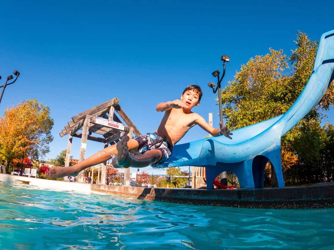 Plunge! Aquatic Centre at Blue Mountain Resort