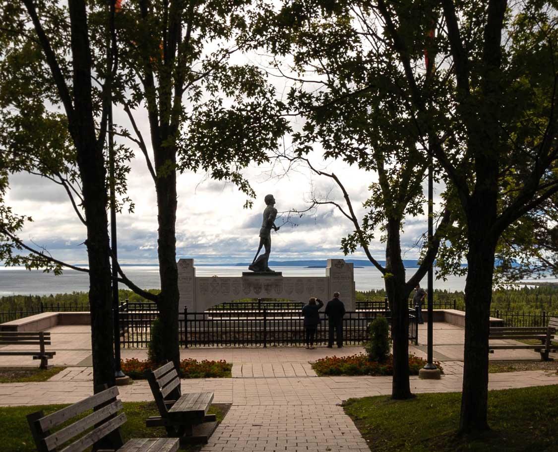 Terry Fox Memorial Overlook in Thunder Bay