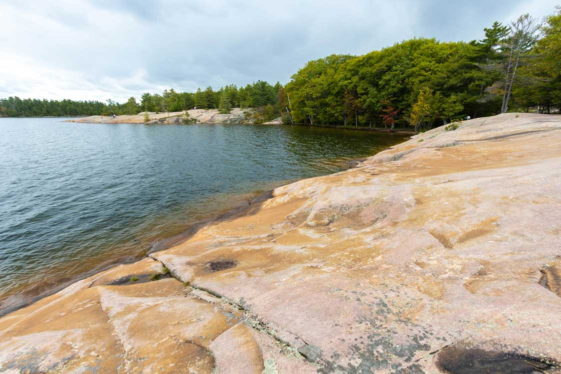 Twin Points Hike in Killbear Provincial Park