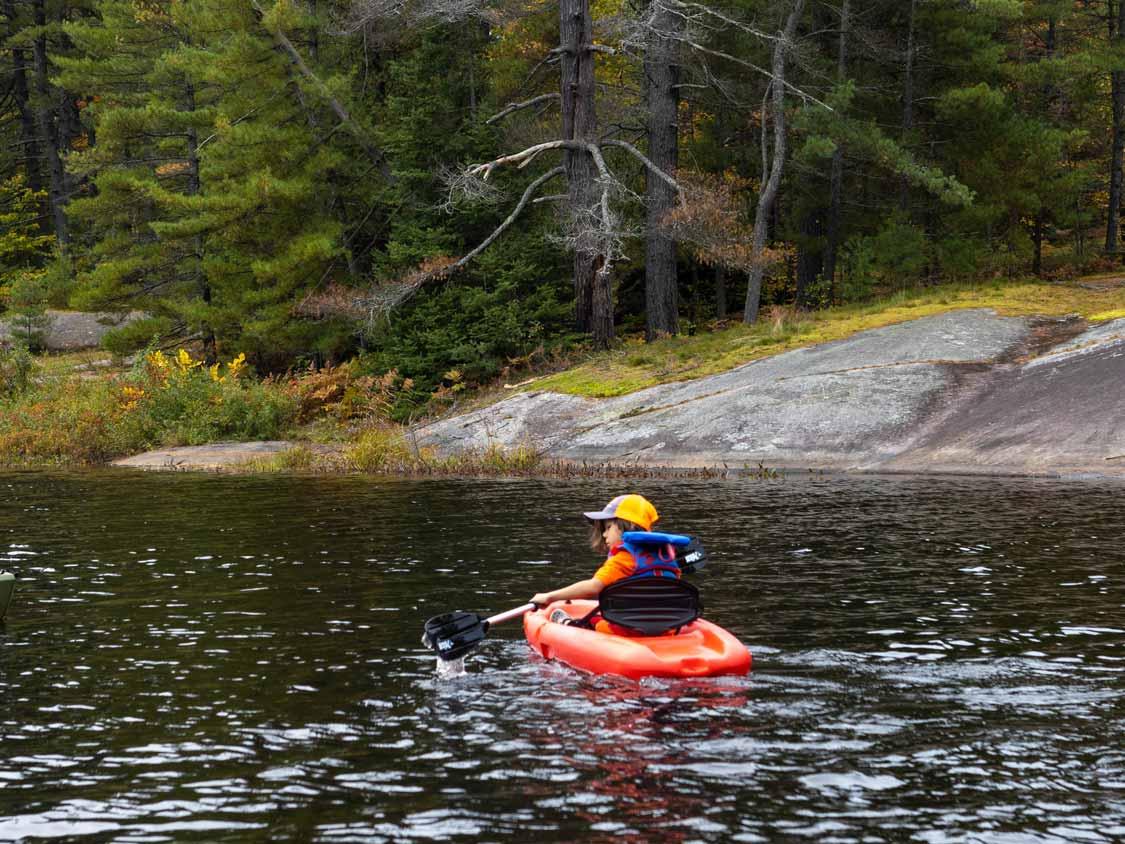kayaking killbear provincial park