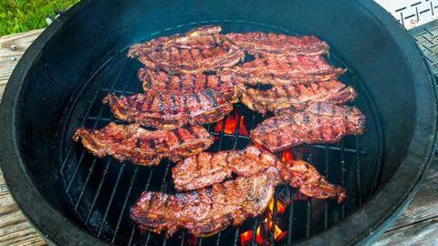 Argentinean Tira de Asado beef short ribs recipe