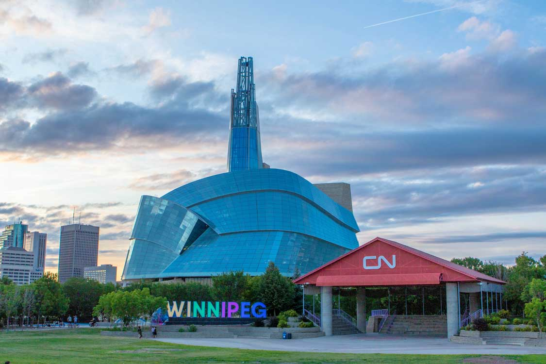 Canadian Museum for Human Rights in Winnipeg