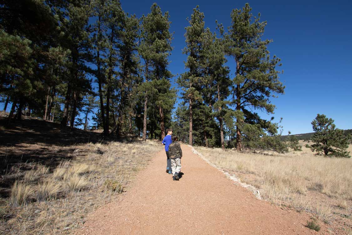 Hikes in Florissant Fossil Beds National Monument