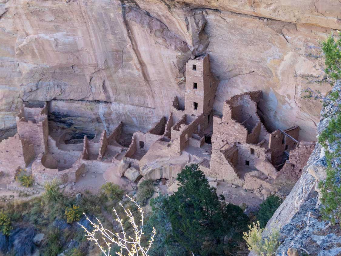 Square Tower House in Mesa Verde NP