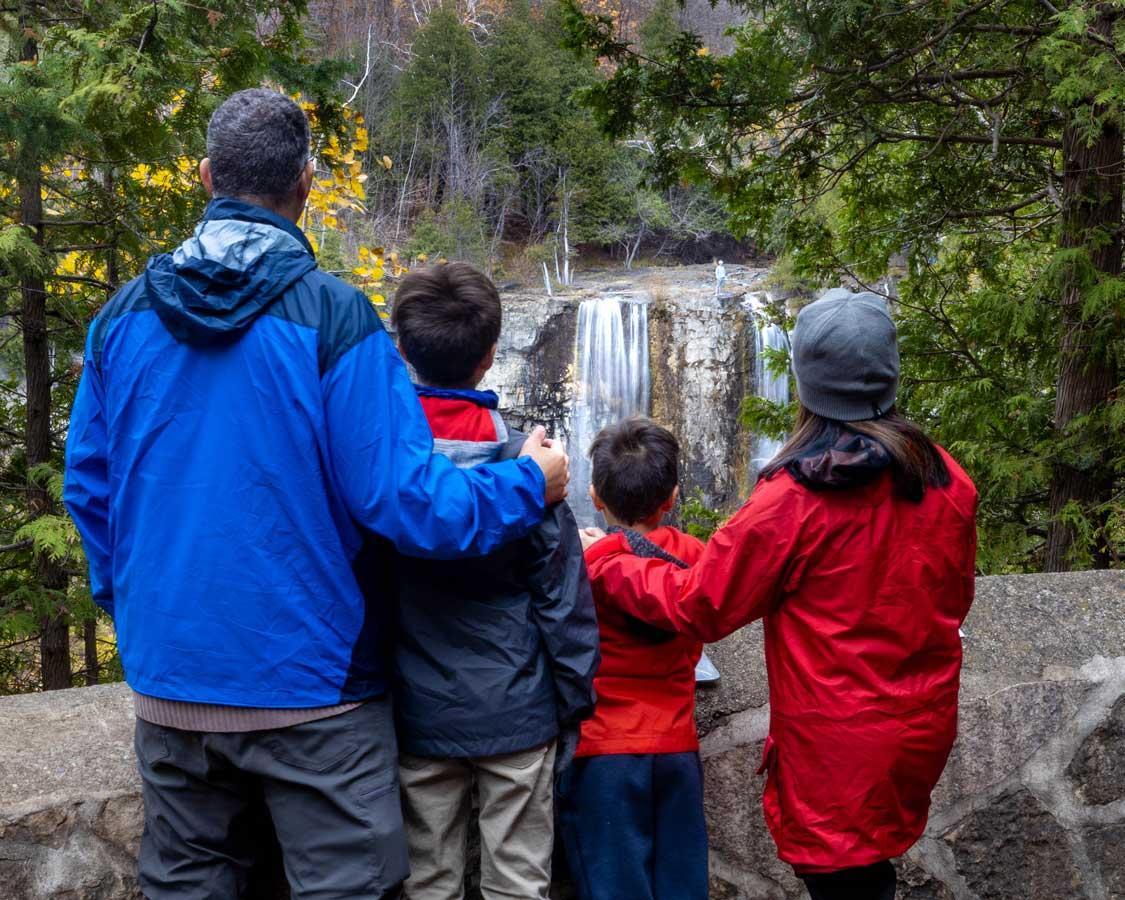 Exploring Ontario's waterfalls