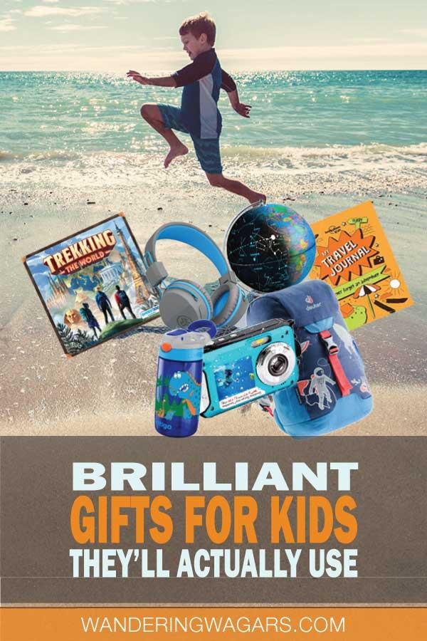 gift ideas for travel loving kids