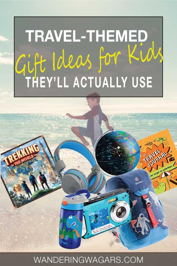travel-themed gift ideas for children
