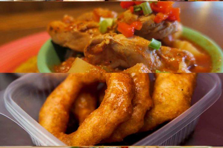 A collection of Peruvian dishes