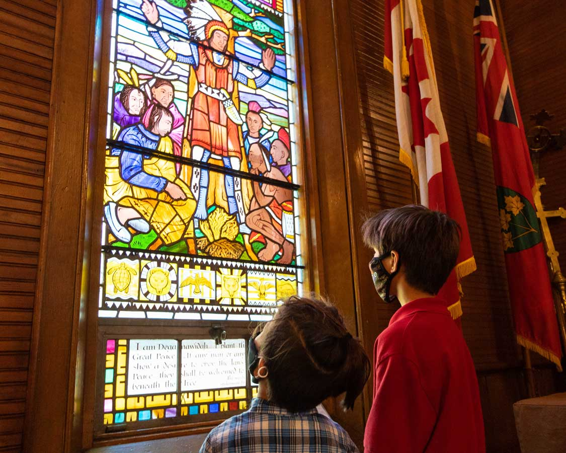 Mohawk Chapel in Brantford Ontario