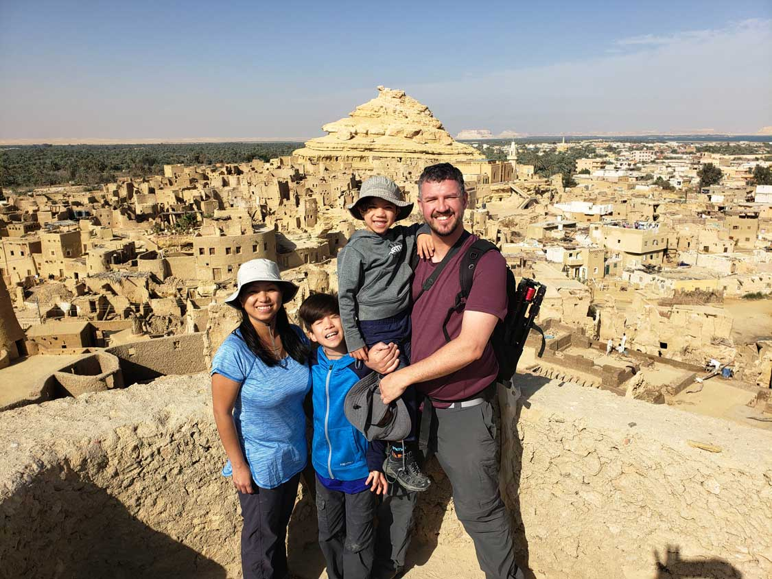 Wandering Wagars at the Siwa Oasis in Egypt