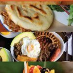 Collage of various Colombian recipes