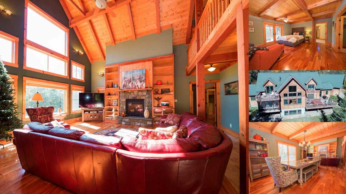 Luxury Lake Placid Airbnb rental with 9 bedrooms