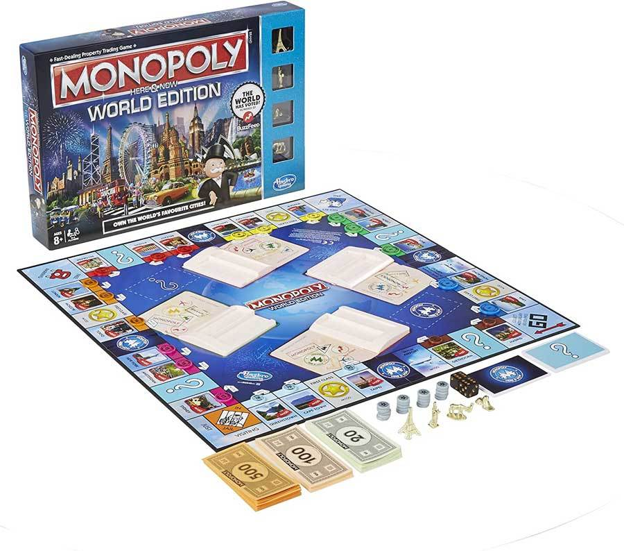 Monopoly: World Edition board game
