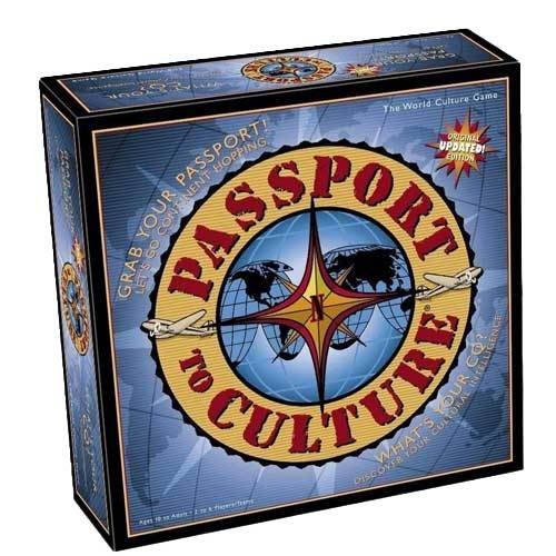 Passport to Culture board game for travel lovers