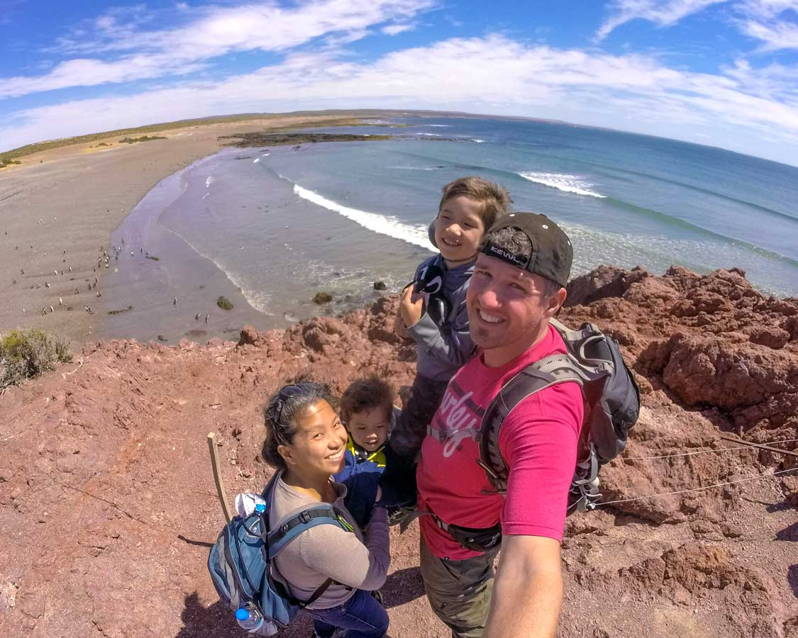 The Wandering Wagars in Punta Tombo Argentina