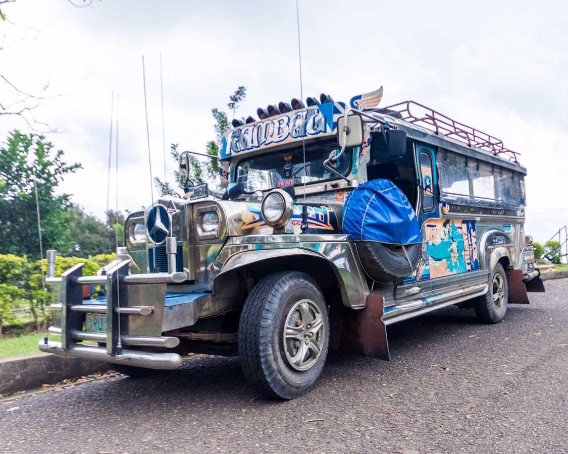 Jeepney in Puerto Princesa
