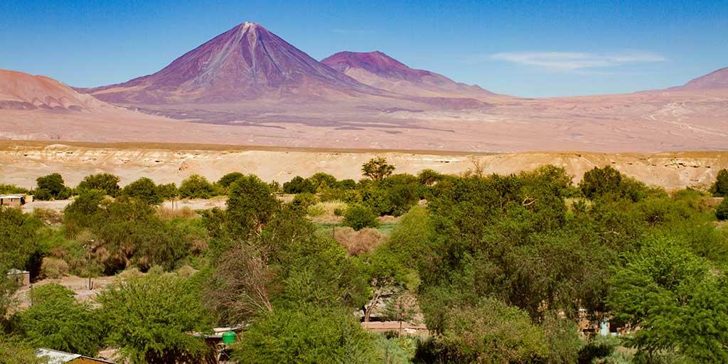 Views over San Pedro de Atacama Chile