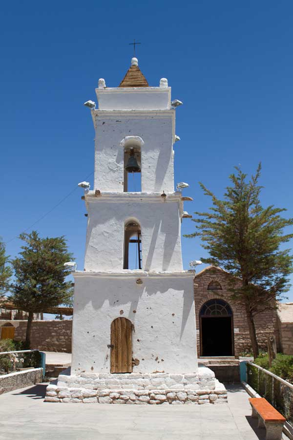 Toconao Bell Tower in the Atacama Desert