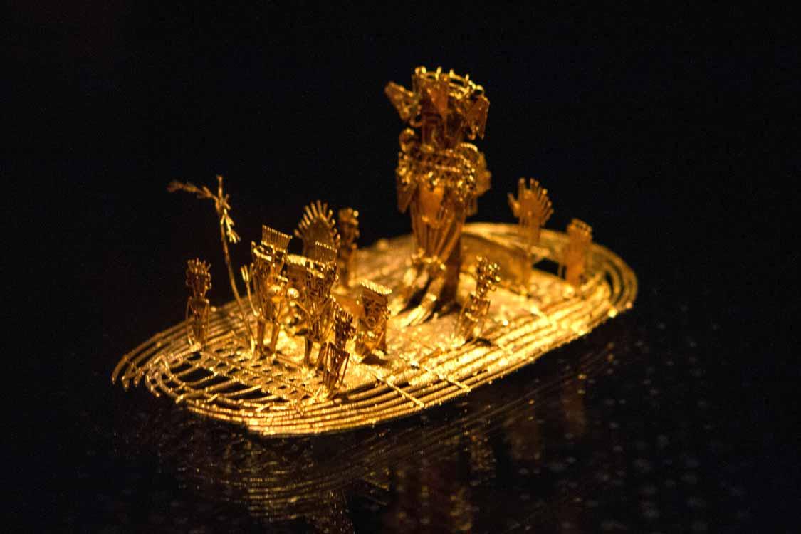 Gold museum in Bogota