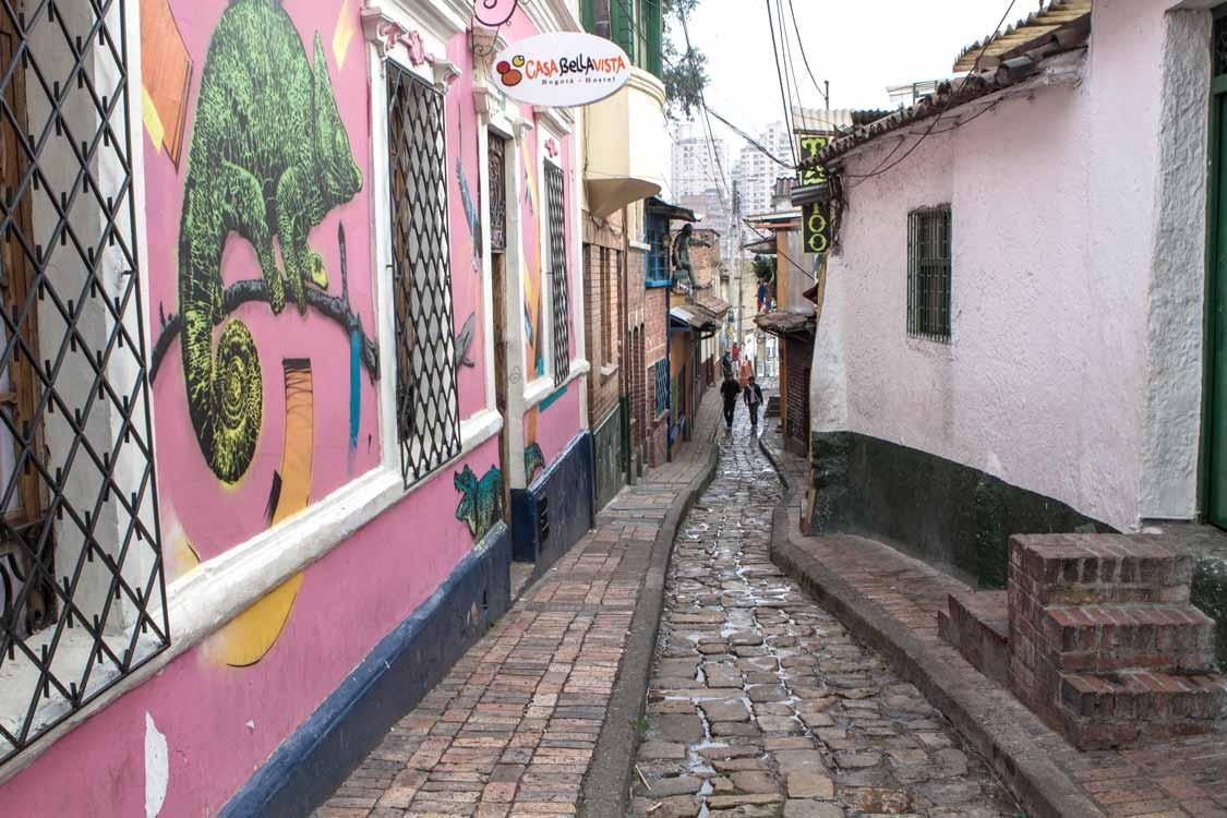 Where to stay in Bogota La Candelaria Neighborood