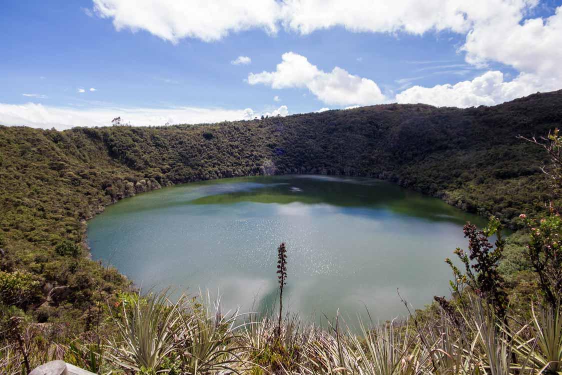 Laguna Guatavita Bogota things to do