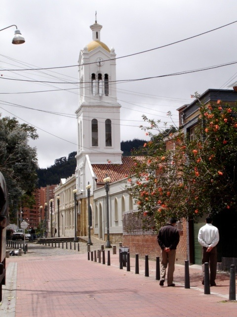 Usaquen neighborhood in Bogota, Colombia