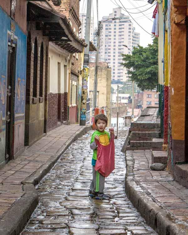Visiting Bogota with kids