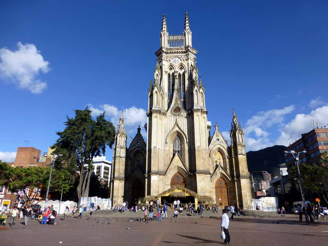 Our Lady of Lourdes Church in Chapinero, Bogota