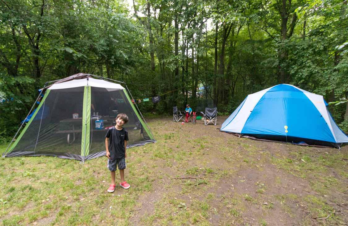 Camping Ontario Provincial Parks at Bon Echo