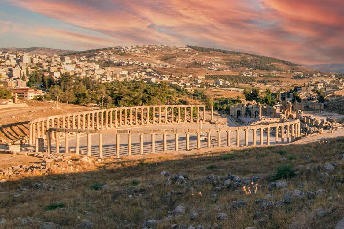 Things to do in Jordan Visit the Jerash Ruins