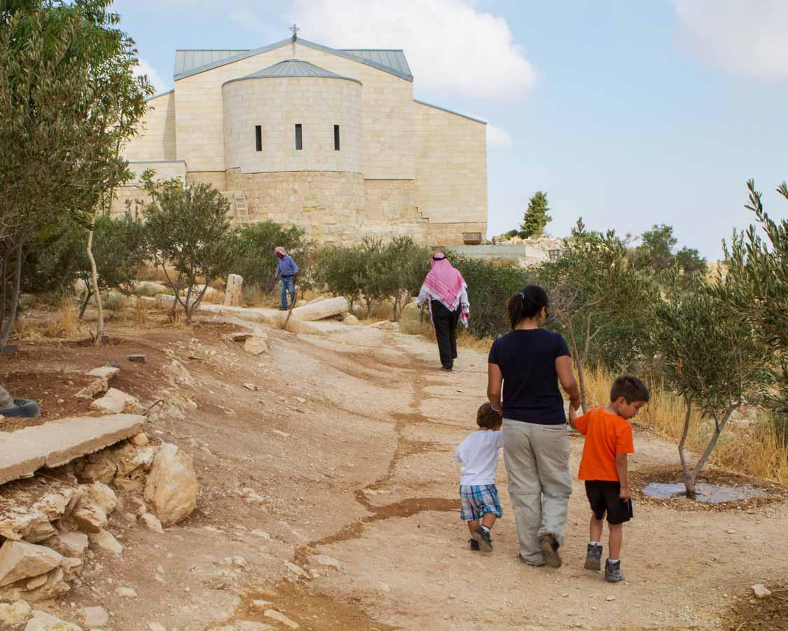 Exploring Mount Nebo in Jordan