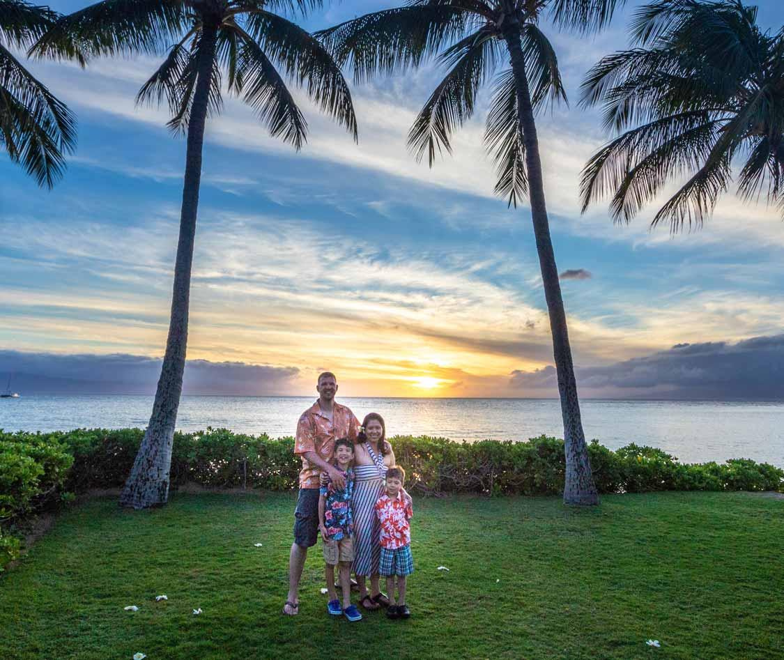 Wandering Wagars in Ka'anapali Beach Maui resorts