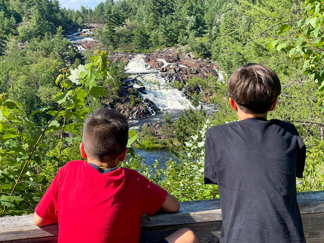 AY Jackson Lookout over Onaping Falls