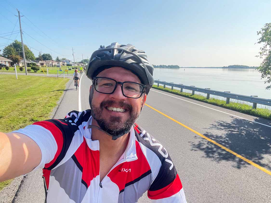 Cycling from Brockville to Mallorytown