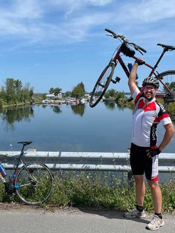 Cycling the St. Lawrence River with Ontario by Bike