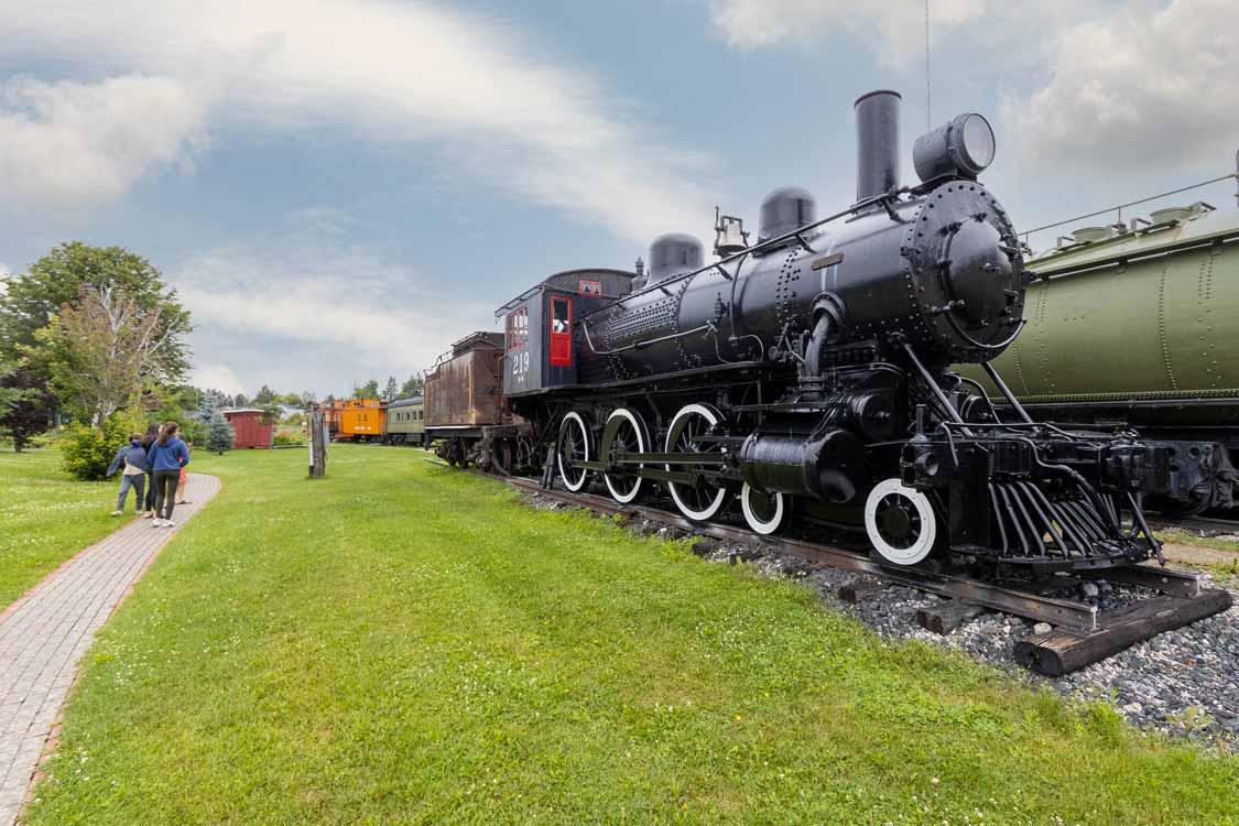 Northern Ontario Railroad Museum and Heritage Centre near Sudbury, Ontario