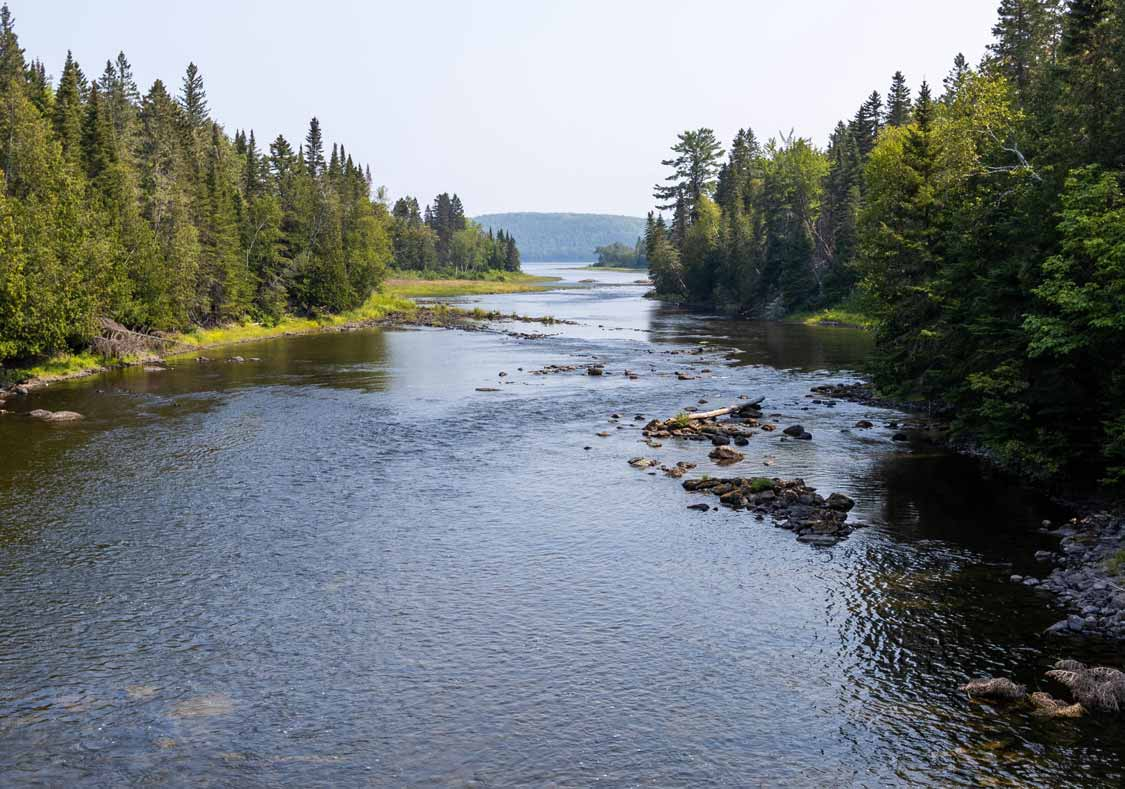 River of Memories in Lac Temiscouata National Park