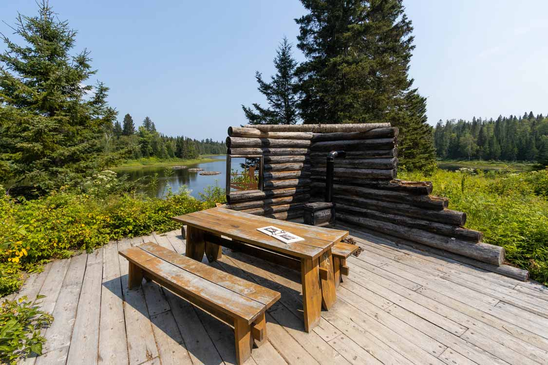 Riviere des Memoires hike in Lac Temiscouata National Park