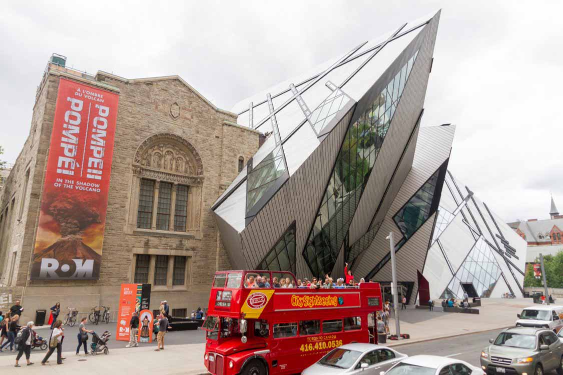 Royal Ontario Museum in Toronto for families