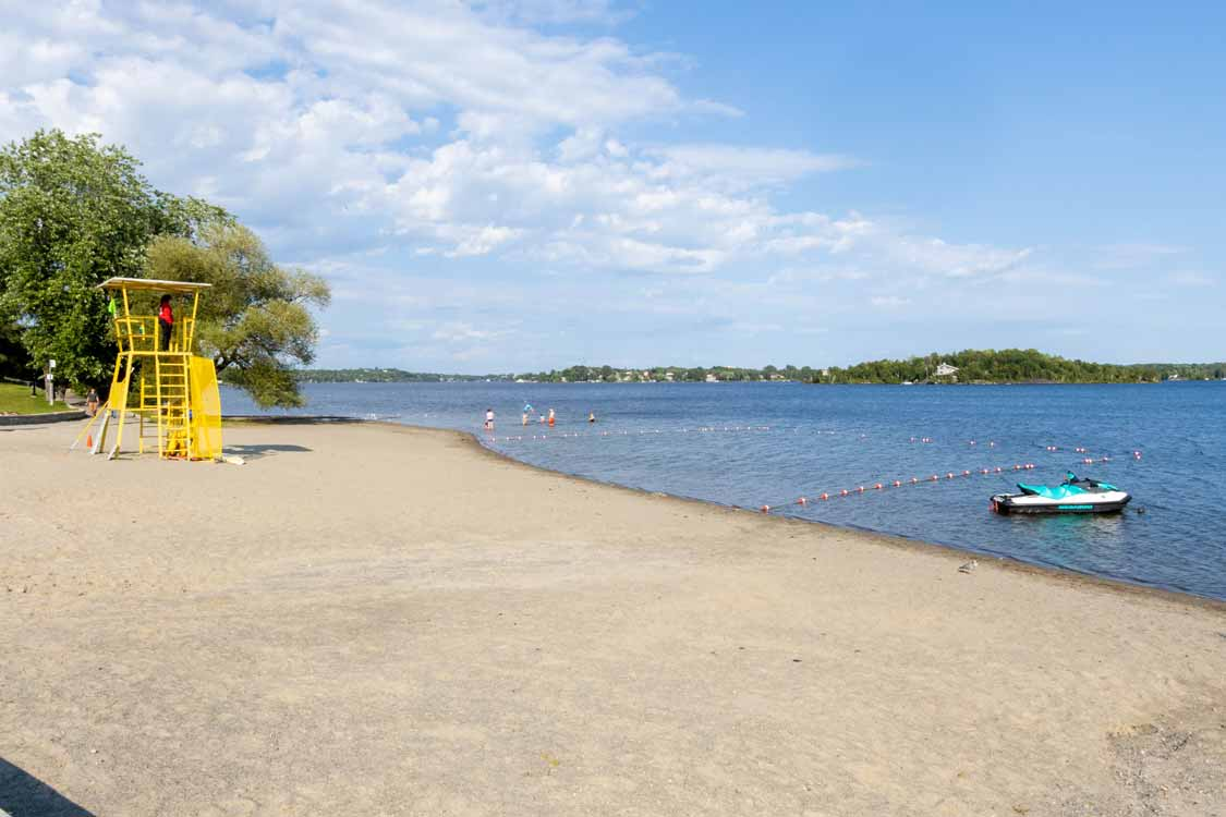 Sudbury beaches at Bell Park