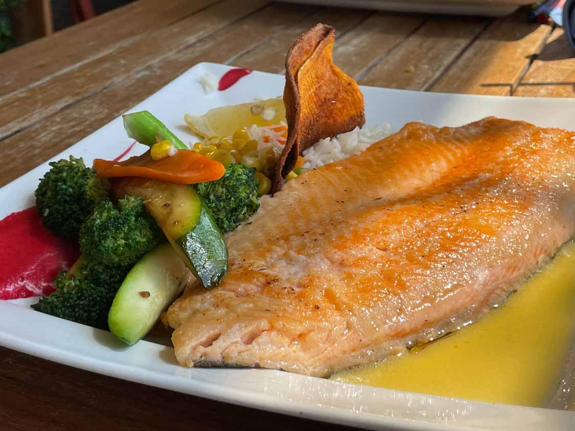 Rainbow Trout Snug Harbour Restaurant