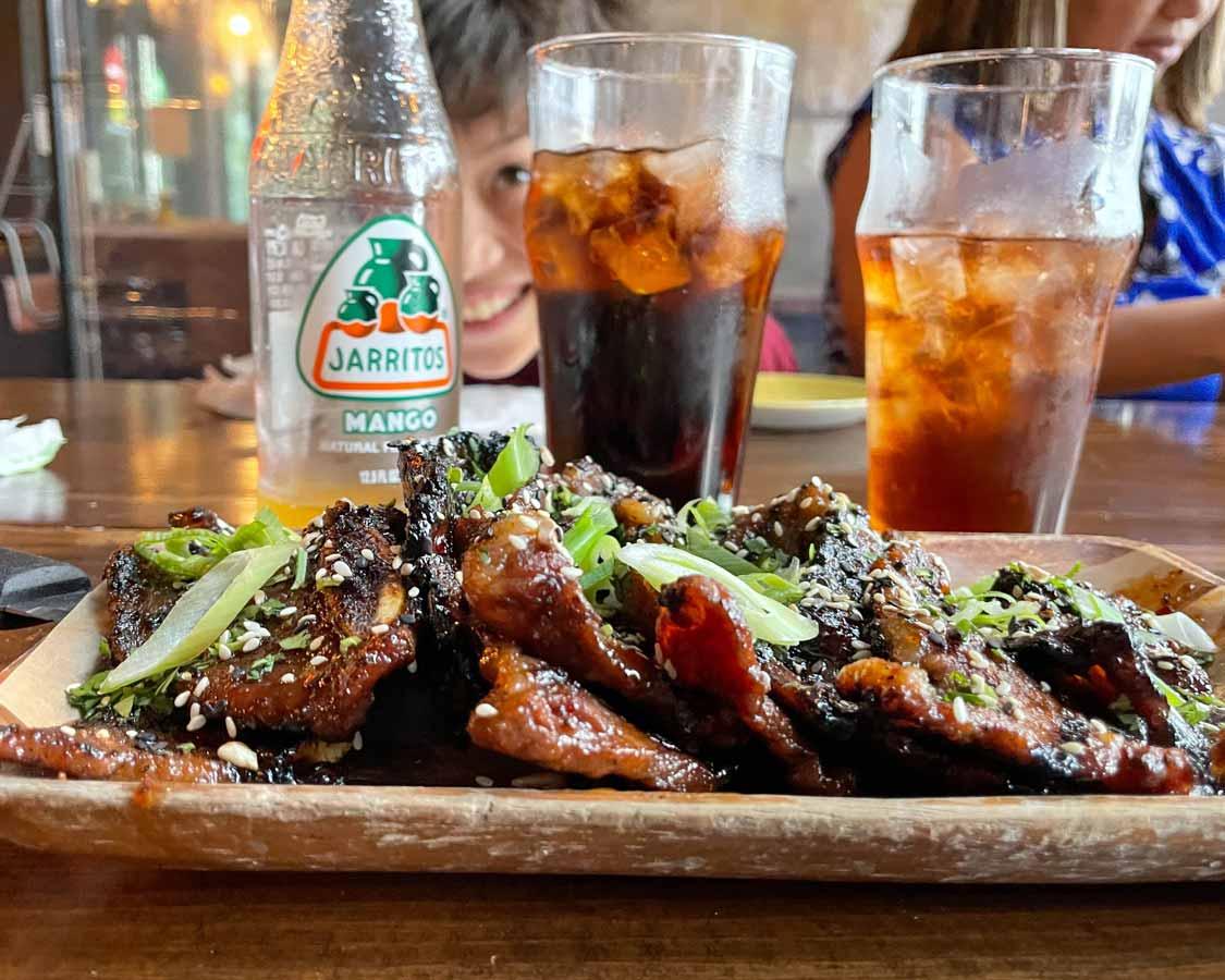 Short ribs from La Carnita Square One Food District