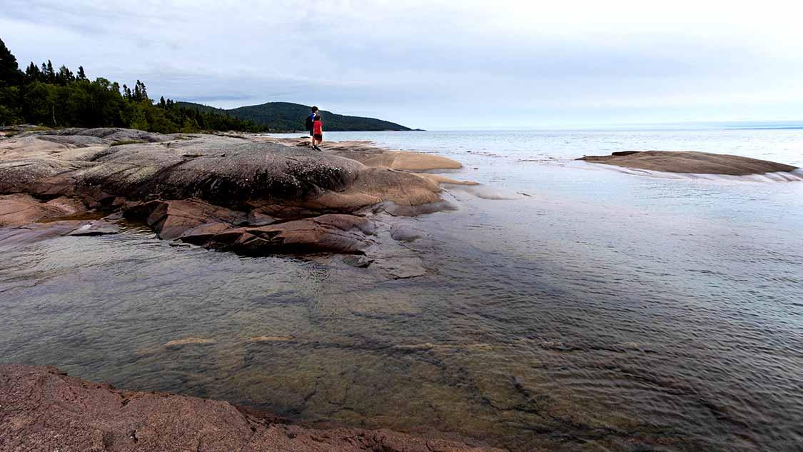 Neys Provincial Park camping