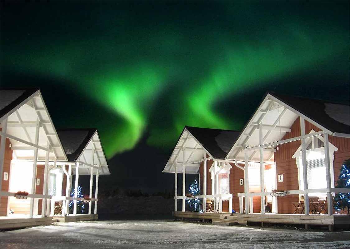 Santa Claus Holiday Village cabin rentals in Rovaniemi
